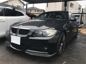 BMW 3シリーズ 320i Mスポーツパッケージ 社外ナビ 19AW