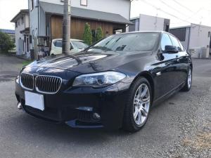BMW 5シリーズ 535i Mスポーツパッケージ ブラックレザー HDDナビ バックカメラ