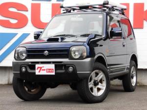スズキ ジムニー ランドベンチャー 4WDターボ オートマ リフトアップ スズキスポーツサス 社外マフラー ETC 社外オーディオ