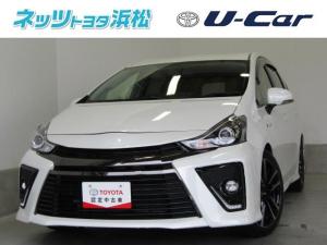 トヨタ プリウスアルファ Sツーリングセレクション・G's メモリーナビ バックモニター スマートキー ETC