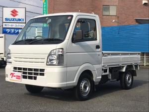 スズキ キャリイトラック KCエアコン・パワステ 4WD パワステ エアコン メーカー保証