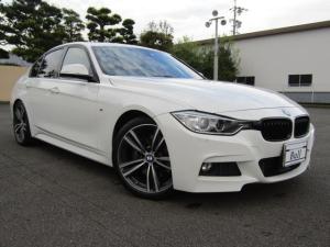 BMW 3シリーズ 320d Mスポーツ ファストトラックPKG 純正ナビ Bカメラ インテリジェントセーフティ 車線逸脱A Aストップ クルーズC LIM パドルシフト パワーシート スマートキー Pシート ETC