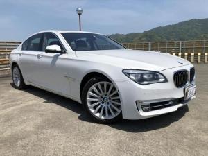 BMW 7シリーズ 750i 純正ナビ 地デジTV 360°Bカメラ サンルーフ 黒革シート Pシート シートH シートAC ブレーキS レーンA 車線変更警告 クルーズC Aストップ HUD Pセンサー Pスタート ETC