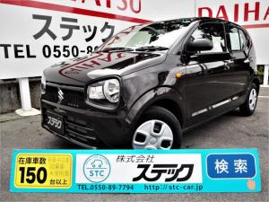 スズキ アルト L セーフティーサポート・メーカー保証付・純正CD・運転席シートヒーター・キーレス・レベライザー・アイドリングストップ・Wエアバッグ・ABS