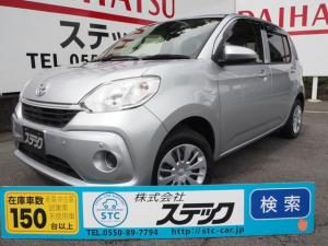 トヨタ パッソ X LパッケージS スマアシ/バックカメラ/純正メモリーナビ/Bluetooth/オートライト/スマートキー/オートエアコン/横滑り防止/Wエアバッグ/ABS