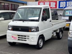 三菱 ミニキャブトラック みのり 4WD Hi-lo切替 軽トラック エアコン パワステ