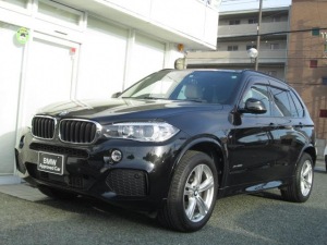 BMW X5 xDrive35dMスポーツ 法人ワンオーナー ACC