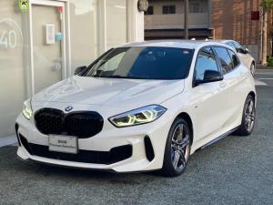 BMW 1シリーズ M135i xDrive ワンオーナー車両 Mスポーツシート アダプティブサスペンション 社外レムスマフラー 純正ドライブレコーダー 社外レーダー探知機 電動テールゲート
