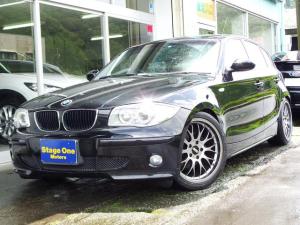 BMW 1シリーズ 120i 外BBS18アルミ フルレザー HID フォグ