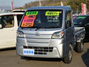 ダイハツ ハイゼットトラック スタンダードSAIIIt 4WD 5MT LEDヘッドライト エアコン パワステ 届出済未使用車 リヤセンサー