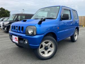 スズキ ジムニー XC 4WD ブルー AT 4名乗り オーディオ付 パワーウィンドウ
