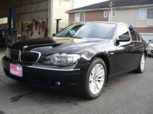 BMW 7シリーズ 750i/車検記録簿23・25・27・29・31年あり/
