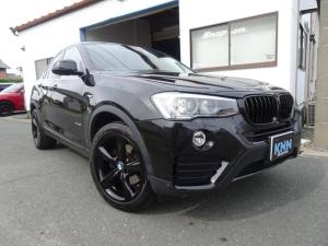BMW X4 xDrive 28i 19インチアルミブラックペイント 黒革シート フロントバックカメラ トップビューカメラ インテリジェントセーフティ 電動トランク アダクティブクルーズコントロール フルセグナビ PDC グー鑑定済み車