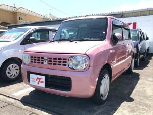 スズキ アルトラパン G 軽自動車 4AT 保証付 AC 4人乗 記録簿 CD