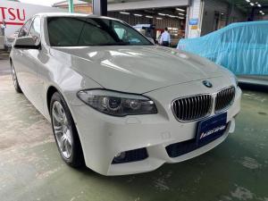 BMW 5シリーズ 523d Mスポーツ 並行車 サンルーフ 茶革シート