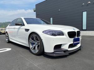 BMW M5 M5 ディーラー車 右H H&Rダウンサス カーボンリップスポイラー カーボンドアミラー キセノン 純正20AW