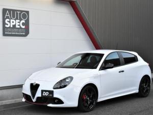 アルファロメオ ジュリエッタ ヴェローチェ 1750 TBI 新車保証継承 カロッツェリアナビ 地デジ レザーシート シートヒーター 純正18インチAW