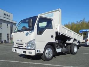 いすゞ エルフトラック 全低床3トン強化ダンプ
