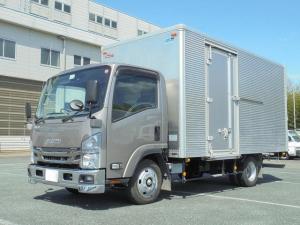 いすゞ エルフトラック ワイドロングアルミバン