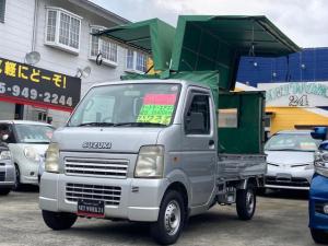 スズキ キャリイトラック KCエアコン・パワステ 幌 ウイング オートマ 2WD