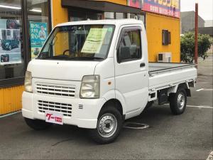 スズキ キャリイトラック 4WD 5速マニュアル エアコン パワステ 軽トラック