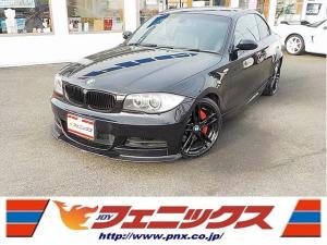 BMW 1シリーズ 135i禁煙車ユーロスペック車高調HDDナビ黒革シートHID