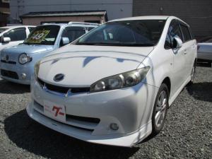 トヨタ ウィッシュ 1.8S 1年走行距離無制限保証付 ロ-ドサ-ビス付