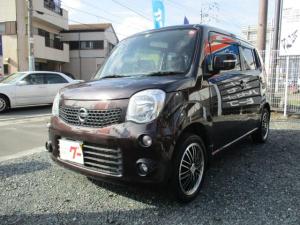 日産 モコ X 1年走行距離無制限保証付 ロ-ドサ-ビス付 ナビ バックカメラ