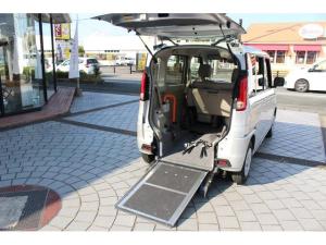 マツダ フレアワゴン XG リアシート付 車椅子仕様 電動ウインチ スロープタイプ