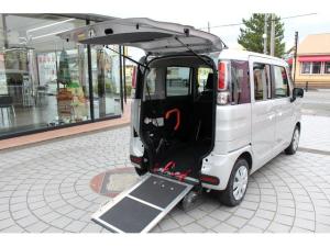 マツダ フレアワゴン ハイブリッドXG ナビ/キーレス/ワンオーナー/スロープ式車椅子移動車/両側スライドドア