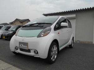 三菱 アイミーブ M 東芝製バッテリー200V急速充電 バックソナー