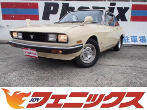 いすゞ 117クーペ XT-L スターシリーズ最終モデル3ATウッドステアリング三角窓アイアンバンパーAC/PS/PWフェンダーミラー