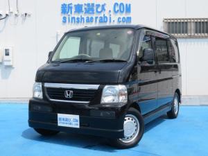 ホンダ バモス M 4WD 純正CD キーレス フルフラットシート