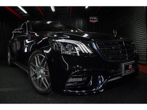 メルセデスAMG Sクラス S63 ロング ショーファーPKG  リアエンターテイメント 360℃カメラ サンルーフ ブルメスタサウンド ヘッドアップディスプレイ レーダーセーフティ ナイトビューアシスト 最高出力612馬力