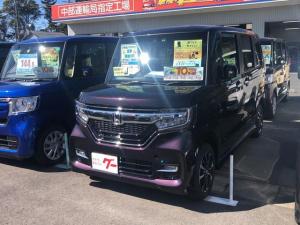 ホンダ N-BOXカスタム G・Lホンダセンシング 左側電動スライドドア 届出済未使用車