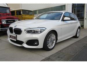 BMW 1シリーズ 118i Mスポーツ 正規BMWディーラー車検車・DBA-1R15・純正ナビCD/DVD・ETC/バックカメラ・クルーズコントロール・パーキングセンサー・スマートキーx2・LEDヘッドライト・デイライト・シートヒーター