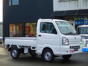 スズキ キャリイトラック KCエアコンパワステ 4WD 5速マニュアル 届出済未使用車
