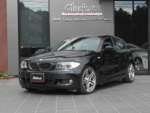 BMW 1シリーズ 130i Mスポーツ Mパフォーマンス18インチアルミ 純正HDDナビ キセノンヘッドライト 黒革シート