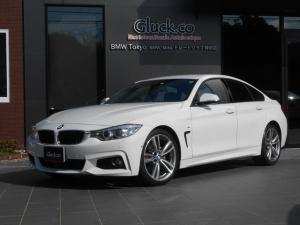 BMW 4シリーズ 428iグランクーペ Mスポーツ M19インチアルミ 純正HDDナビ フルセグTV DVD再生 ミュージックサーバー Bluetooth対応 衝突軽減 レーンアシスト アイドリングストップ バックカメラ