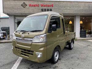 ダイハツ ハイゼットトラック ジャンボSAIIIt オートマ/2WD/衝突軽減ブレーキ付き/LEDヘッドライト/フォグランプ/