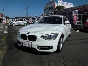 BMW 1シリーズ 116i スポーツ ターボ・アイドリングストップ・純正ナビ・純正オーデイオ・CD・純正16インチアルミホイール・ランフラットタイヤ・プッシュスタート・サイドエアバック
