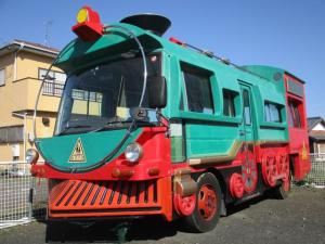 日産 シビリアンバス  機関車仕様 幼稚園バス 5速 クーラー パワステ