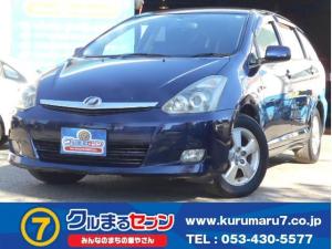 トヨタ ウィッシュ G Tチェーン キーレス ABS 3列シート 取説記録簿