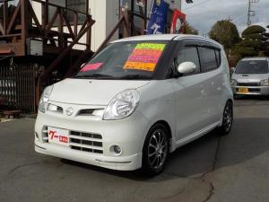 日産 モコ G ショコラティエ エアロスタイル ターボ タイヤ4本新品