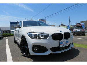 BMW 1シリーズ 118d Mスポーツ エディションシャドー ワンオーナー 禁煙車 限定車 ブラウンレザーシート 純正ナビ ETC2.0 ACC バックカメラ バックソナー シートヒーター ブラックキドニー ブラックホイール Bluetooth接続 CD・DVD