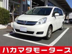 トヨタ アイシス L/Gエディション/ナビテレビ/両側電スラ/左ピラーレス