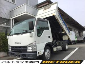 いすゞ エルフトラック  3t積載低床 強化ダンプ ダム加工 コボレーン 中間ピン 道板かけ 6MT 電格ミラー ディーゼルターボ パワステ パワーウィンドウ  ETC搭載車
