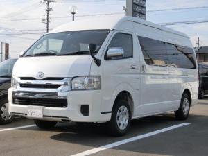 トヨタ ハイエースワゴン グランドキャビン 4WD ナビ・フリップダウンモニター付