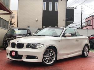 BMW 1シリーズ 120i カブリオレ Mスポーツパッケージ 電動オープン レザシート 電動シート 純正17インチアルミ