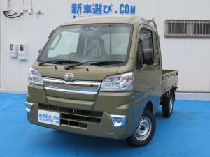 ダイハツ ハイゼットトラック ジャンボSAIIIt 7型ナビTVドラレコETCマットバイザ